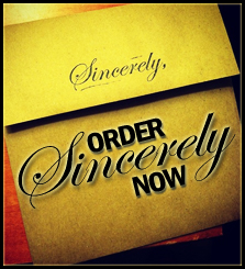 Order Sincerely Now!